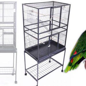 سایز و اندازه قفس پرندگان