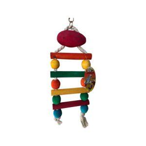 نردبان چوبی بازی پرنده