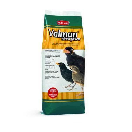 غذای پلت مشکی مرغ مینا Valman Black Pellets